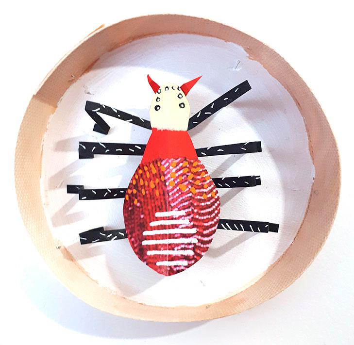 insecte en papier