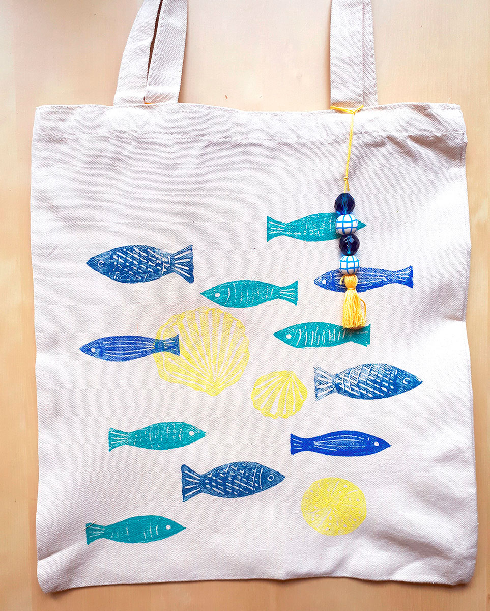 totebag poisson